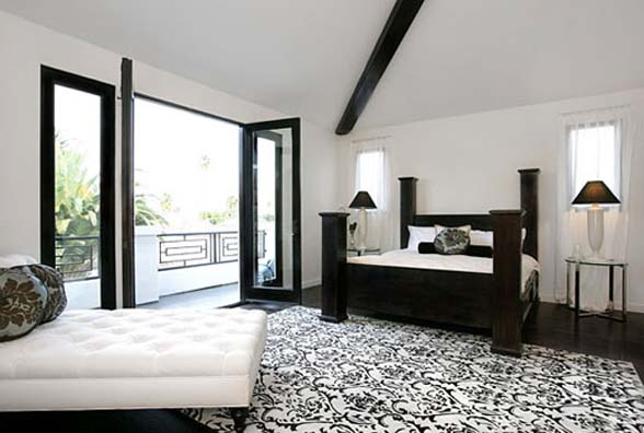 Black And White Home Decor Living In Black And White